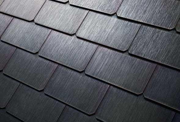 Tesla Struktur - Solar Roof